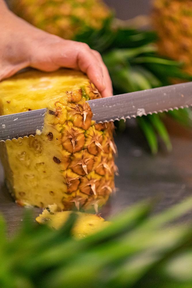 Tri des ananas