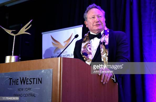 Photo of Andrew Forrest winner of best achievement