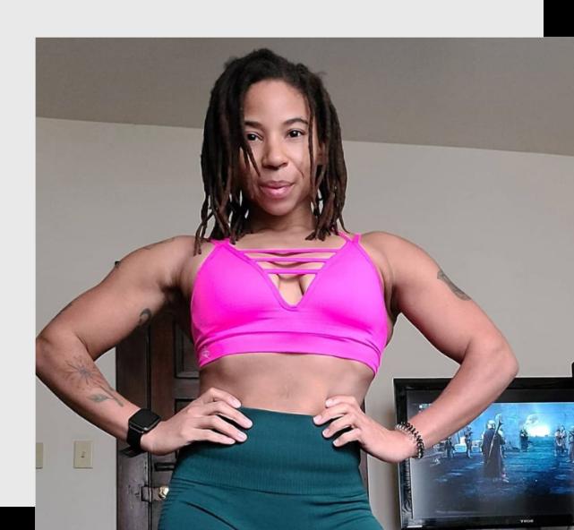 Toni Moore - WeStrive personal trainer