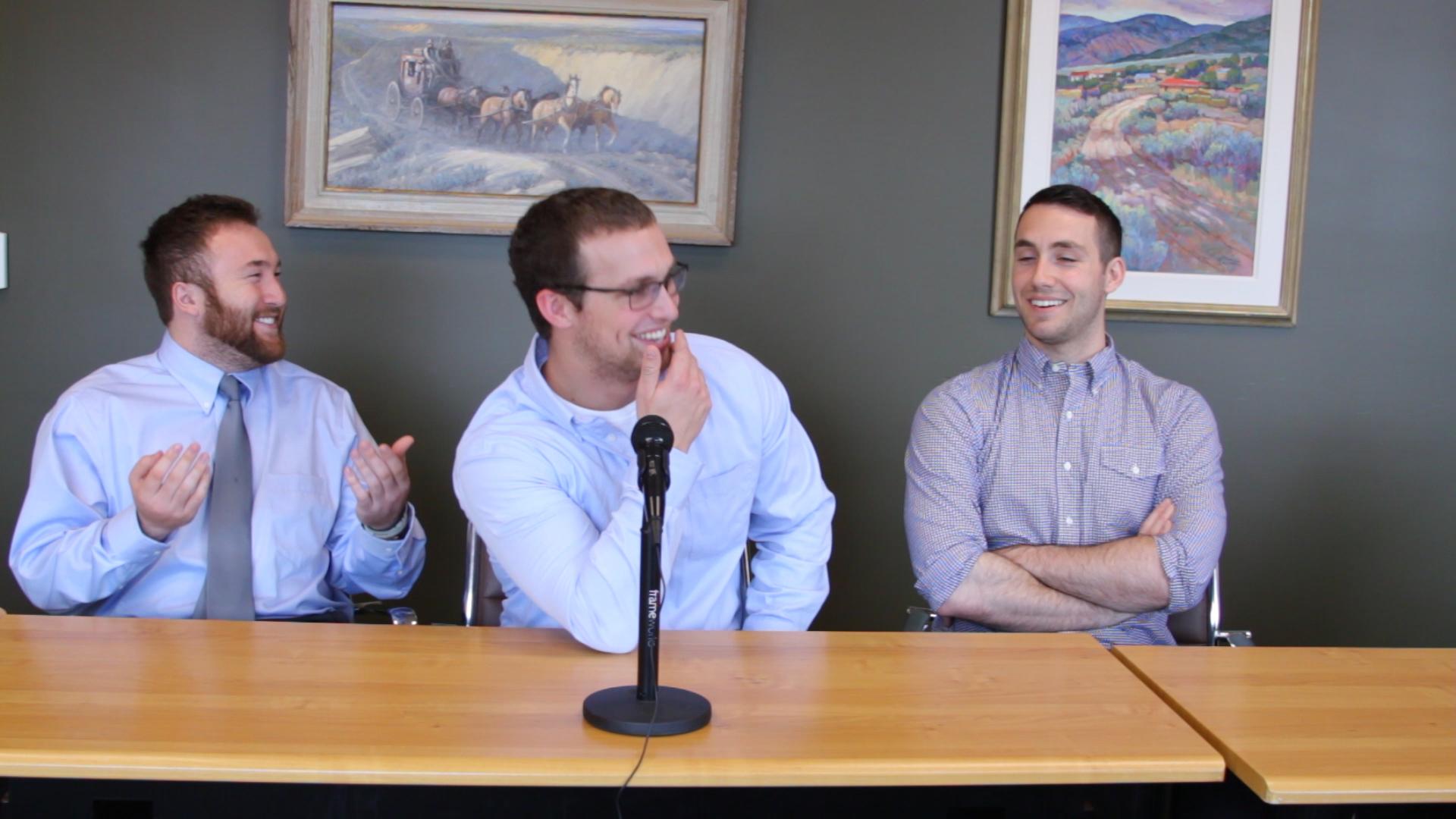 Cory McKane, Ian Bouchard, And Cy Zellner. The original WeStrive team