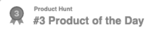 MeetFox was nominated Product Hunt #3 Product of the Day
