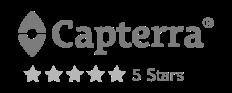 Capterra 5 stars rating for MeetFox