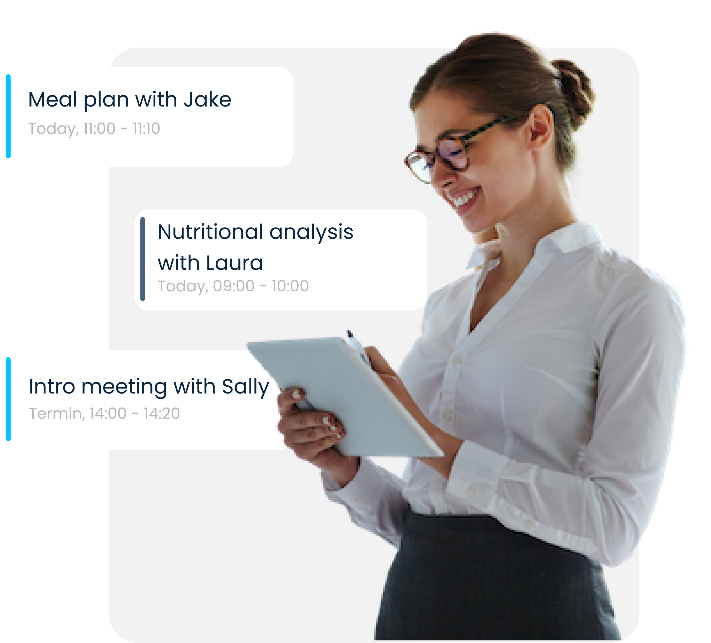 Scheduling, Meeting, and Payment Processing for Nutritionists &Dietitians