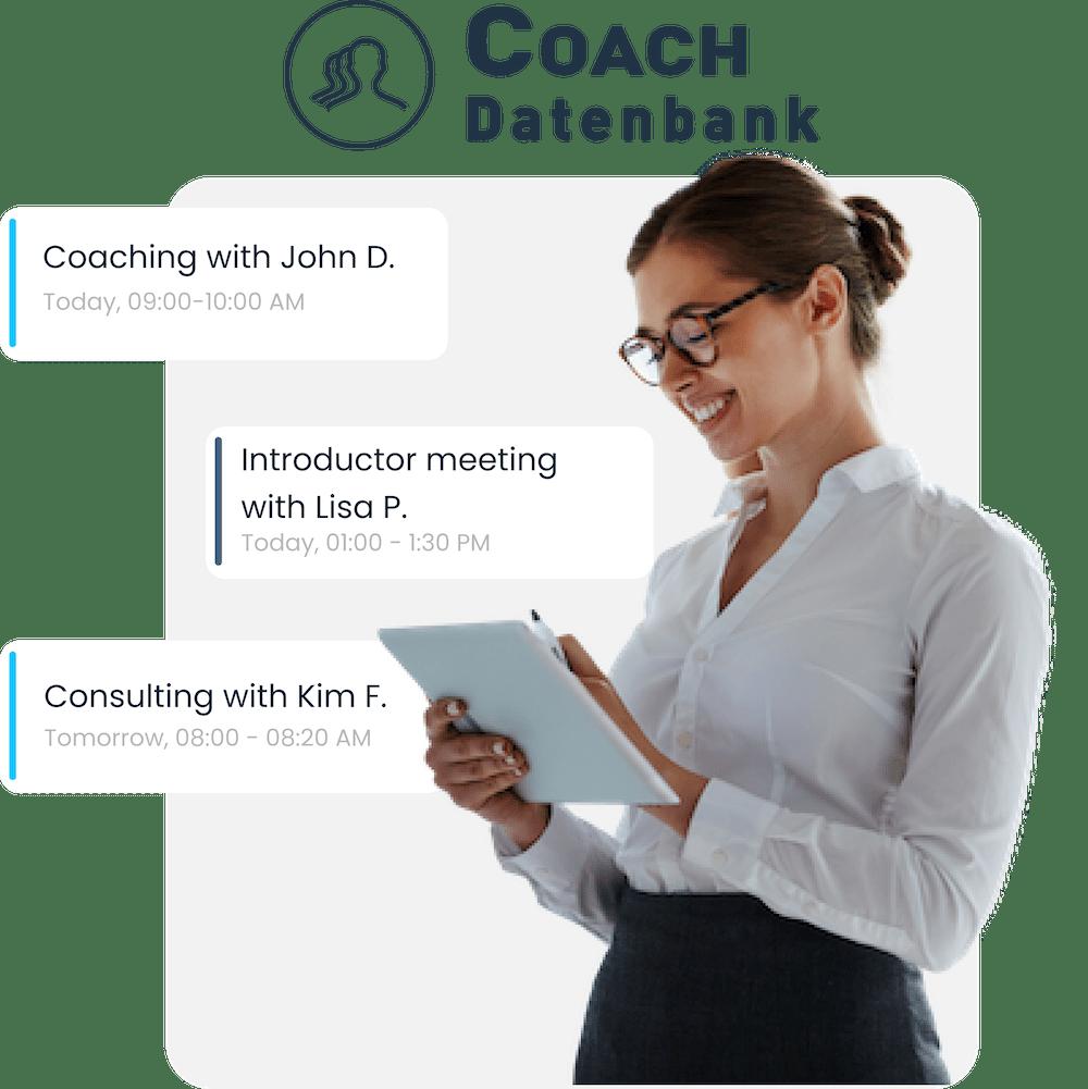 Coach Datenbank Integration von MeetFox