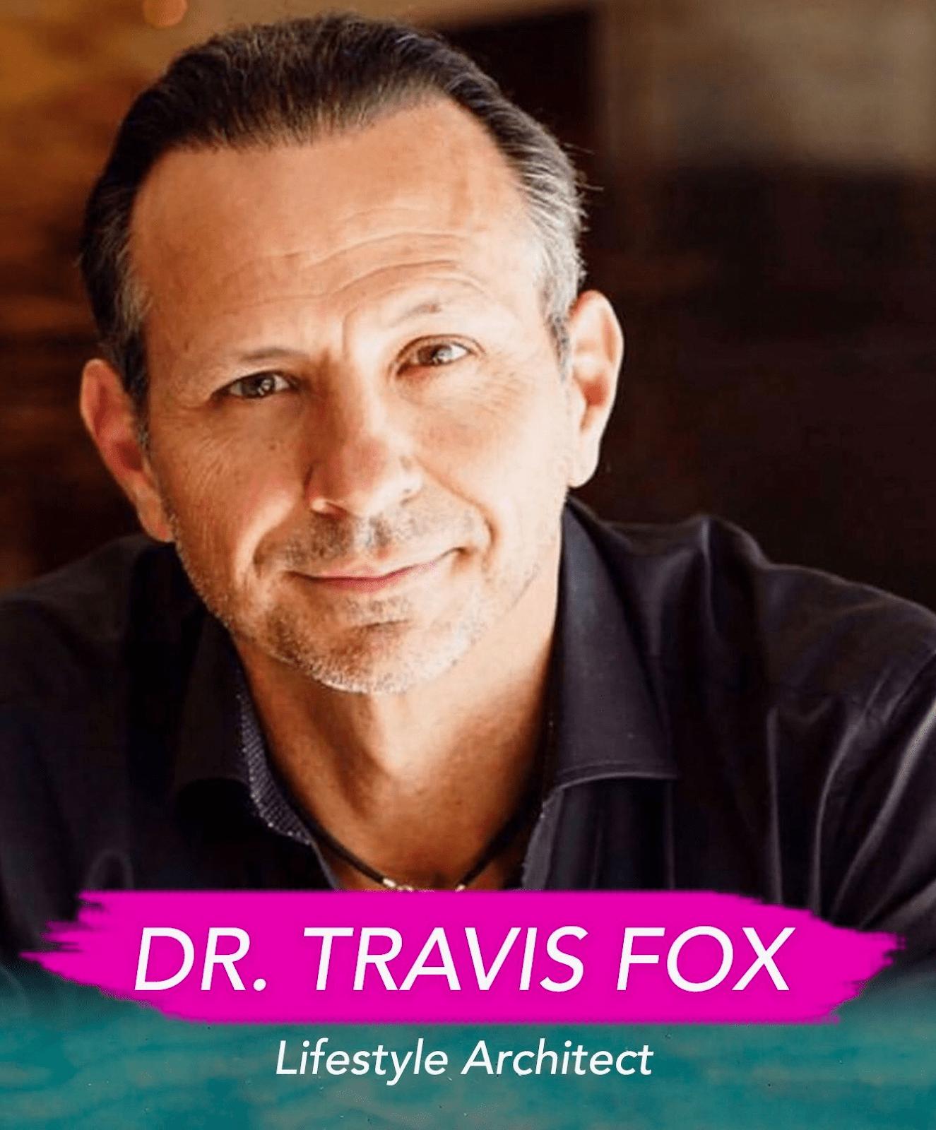 Dr. Travis Fox portrait