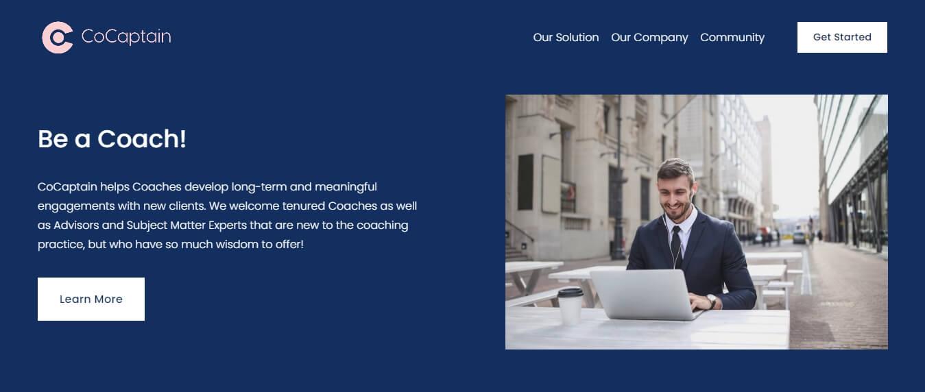 CoCaptain - An Online Coaching Marketplace