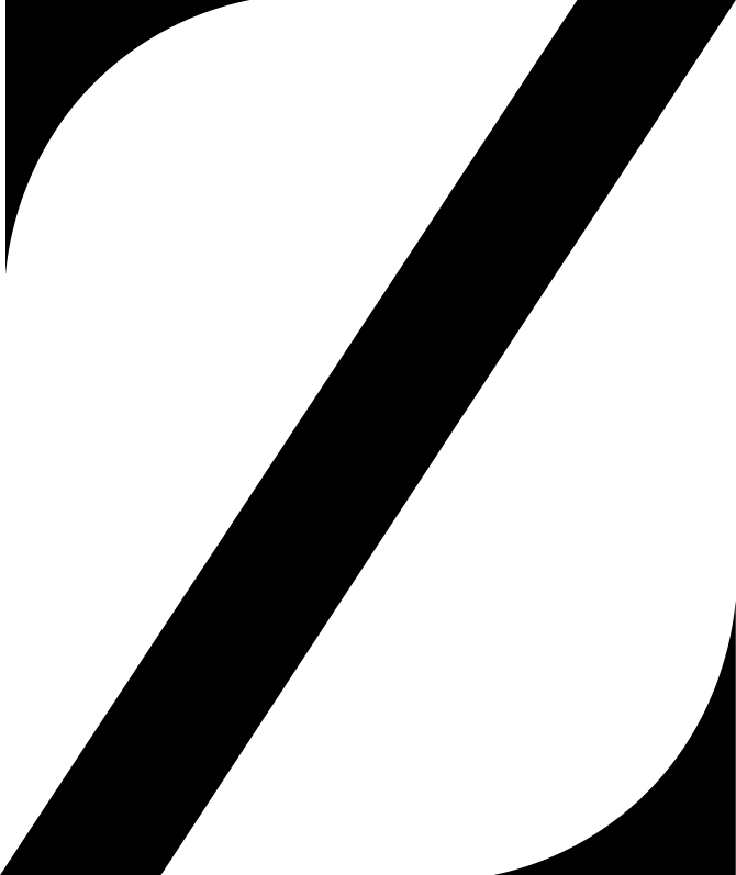 Zephyr Social Black Logo