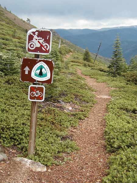 The PCT can be reached from Elwell Lakes Lodge in about two miles.
