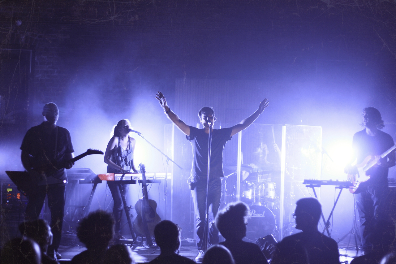 Nathan Peterson and Hello Industry perform live concert