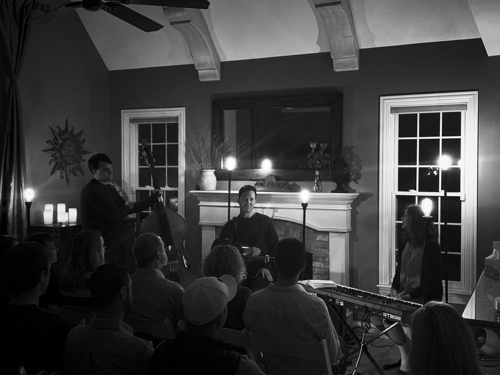 Nathan Peterson, Heather Peterson, James Ross perform live house concert