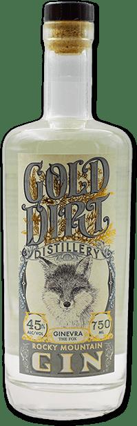 gold dirt distillery rocky mountain gin