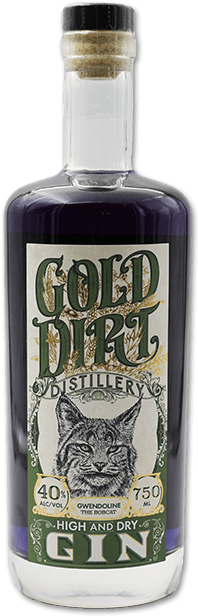 gold dirt distillery lavender infused gin