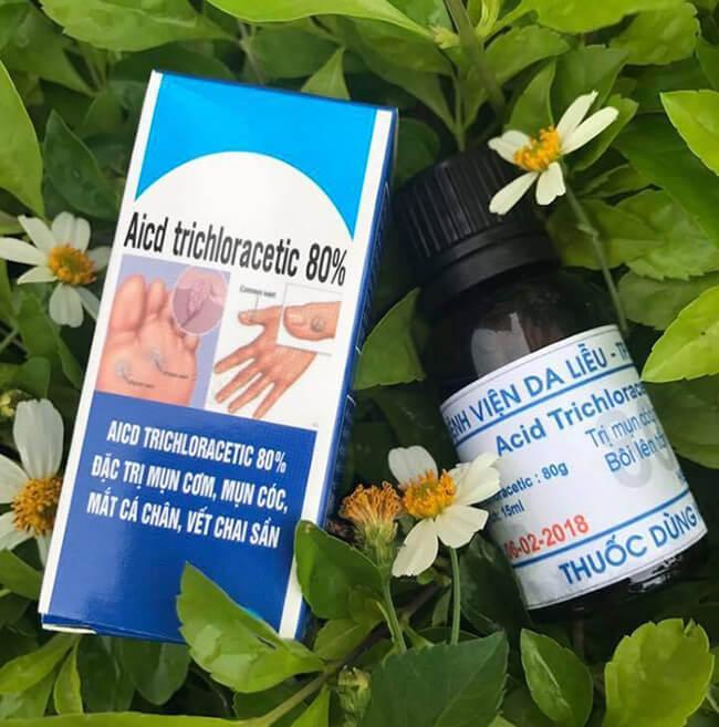 Thuốc Acid Trichloracetic 80 mua ở đâu tại Hà Nội và TPHCM
