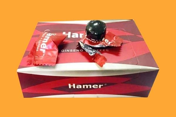 Cách dùng kẹo sâm Hamer