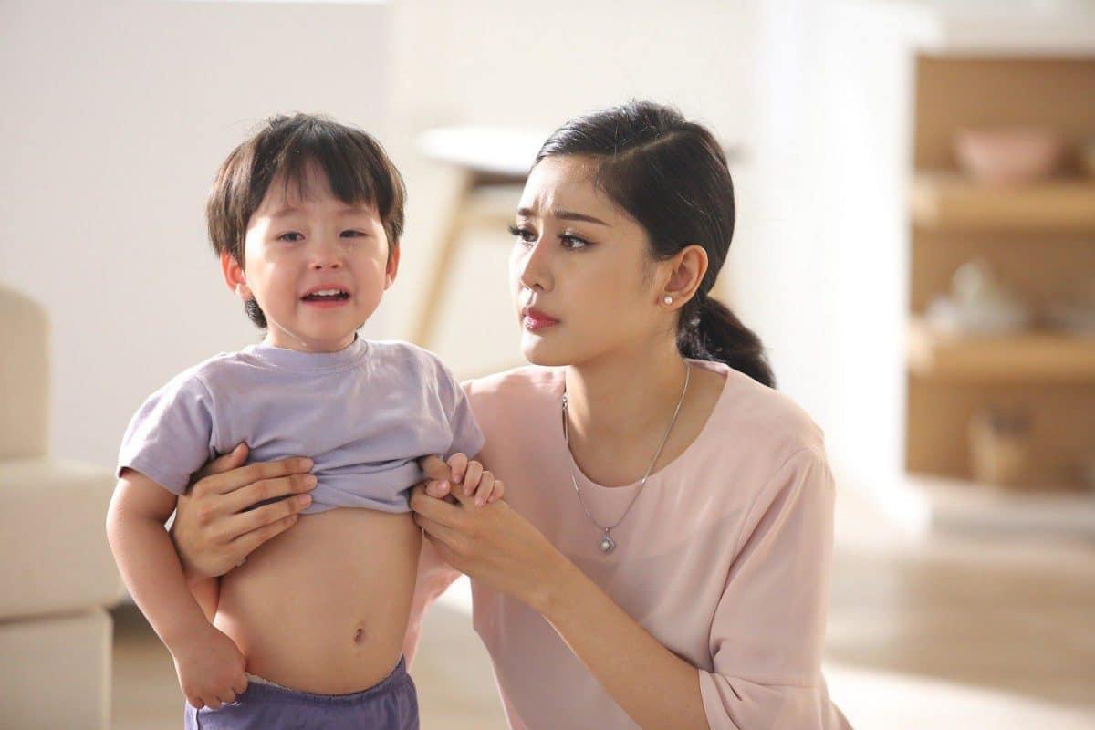 Rối loạn tiêu hóa ở trẻ sơ sinh là hiện tượng cơ vòng hệ tiêu hóa của trẻ bị co thắt
