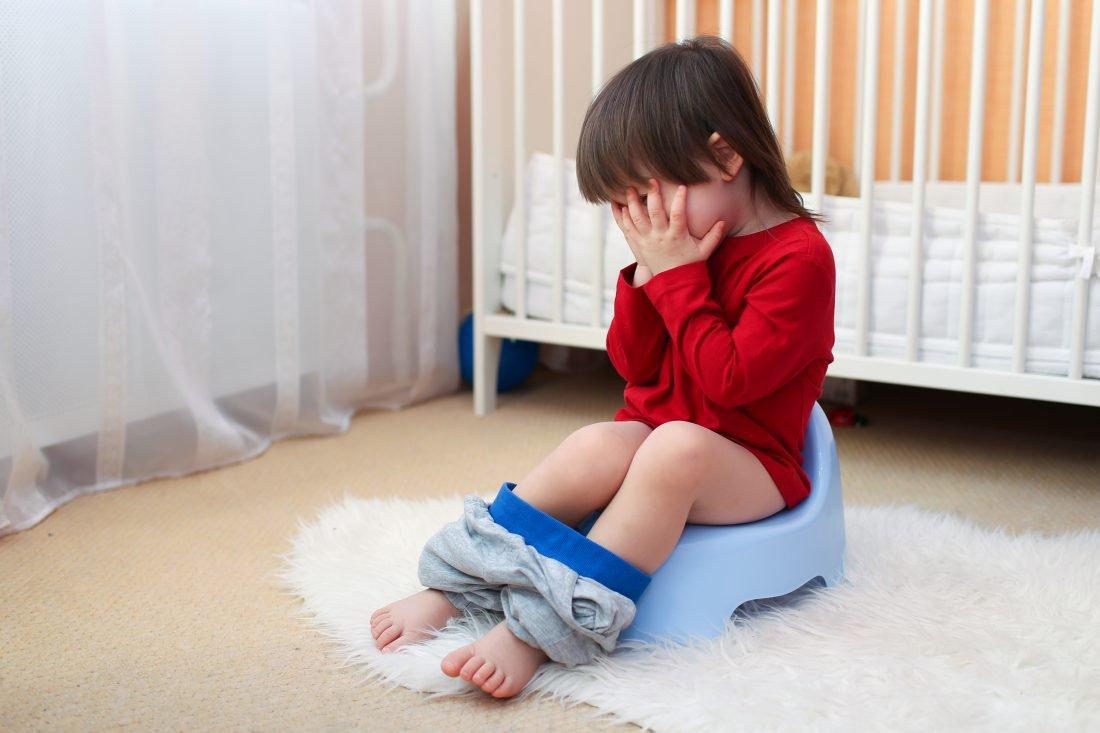 Táo bón là tình trạng xảy ra ở nhiều trẻ nhỏ