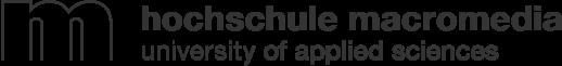 Logotype der Hochschule Macromedia – university of applied sciences