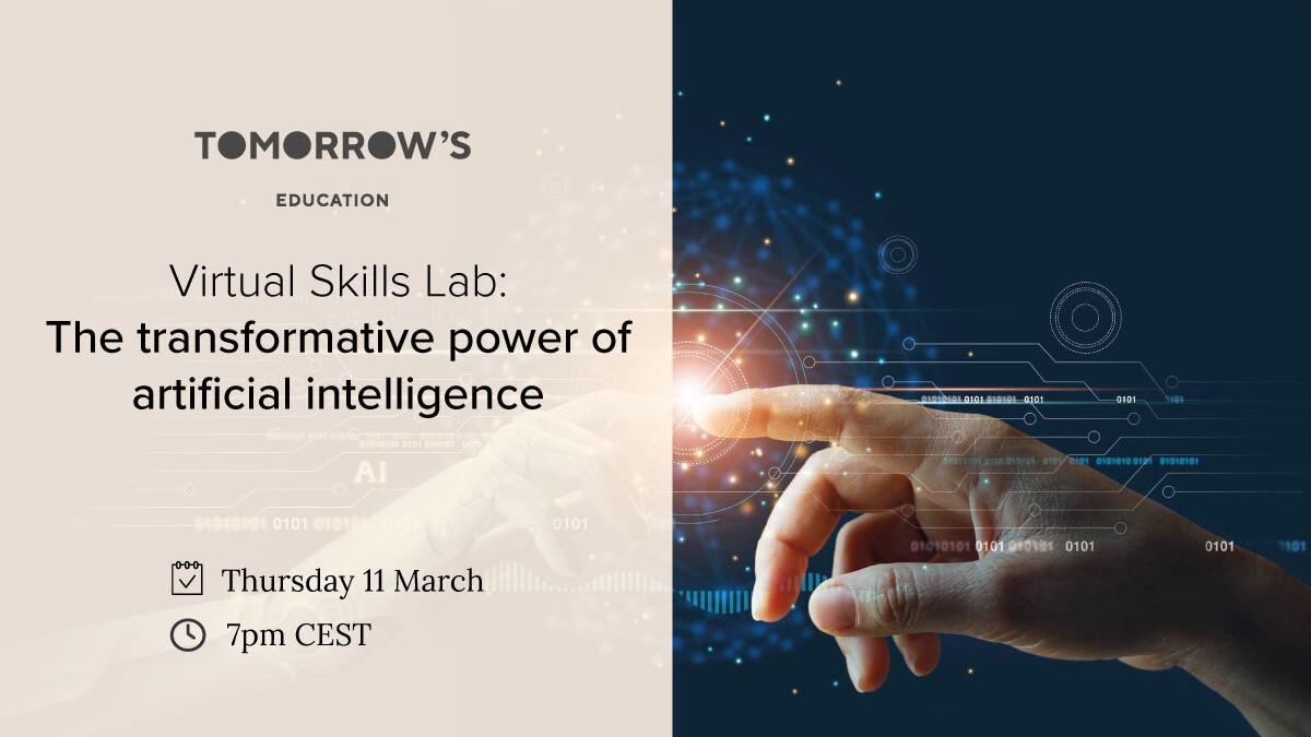 Virtual Skills Lab: The transformative power of artificial intelligence