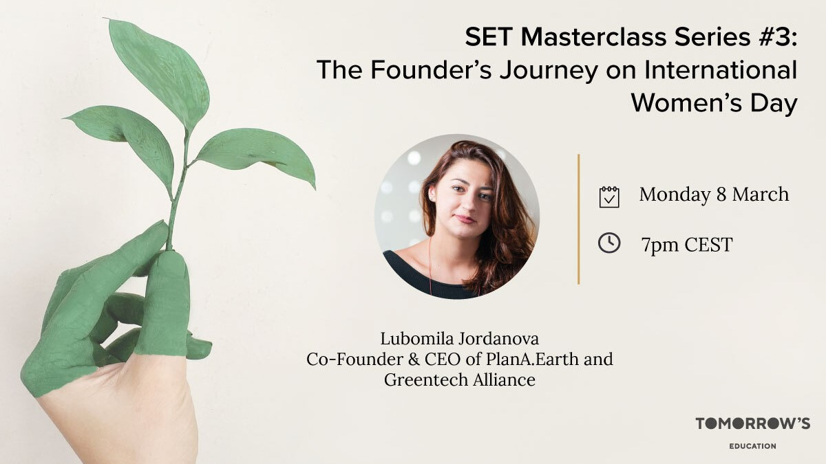 SET Masterclass Series: Session #3: The Founder's Journey on International Women's Day