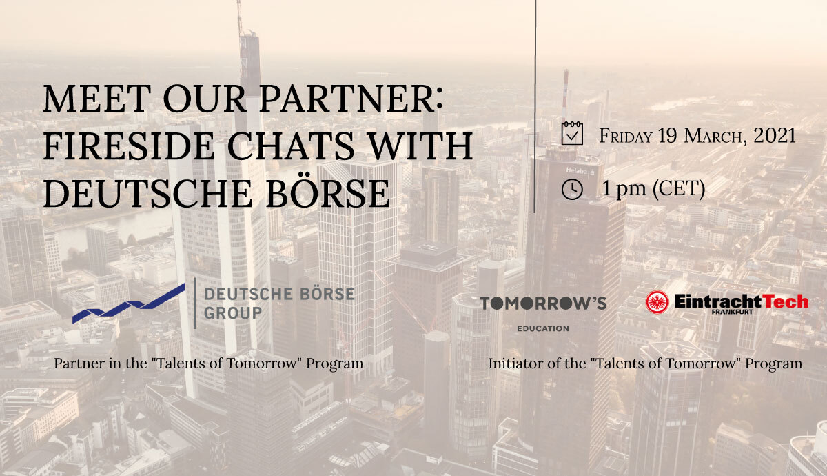 Meet our Partners: Fireside Chat and Q&A with Deutsche Börse Group