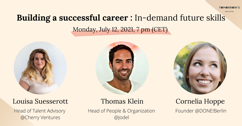 Building a Successful Career: In-demand future skills