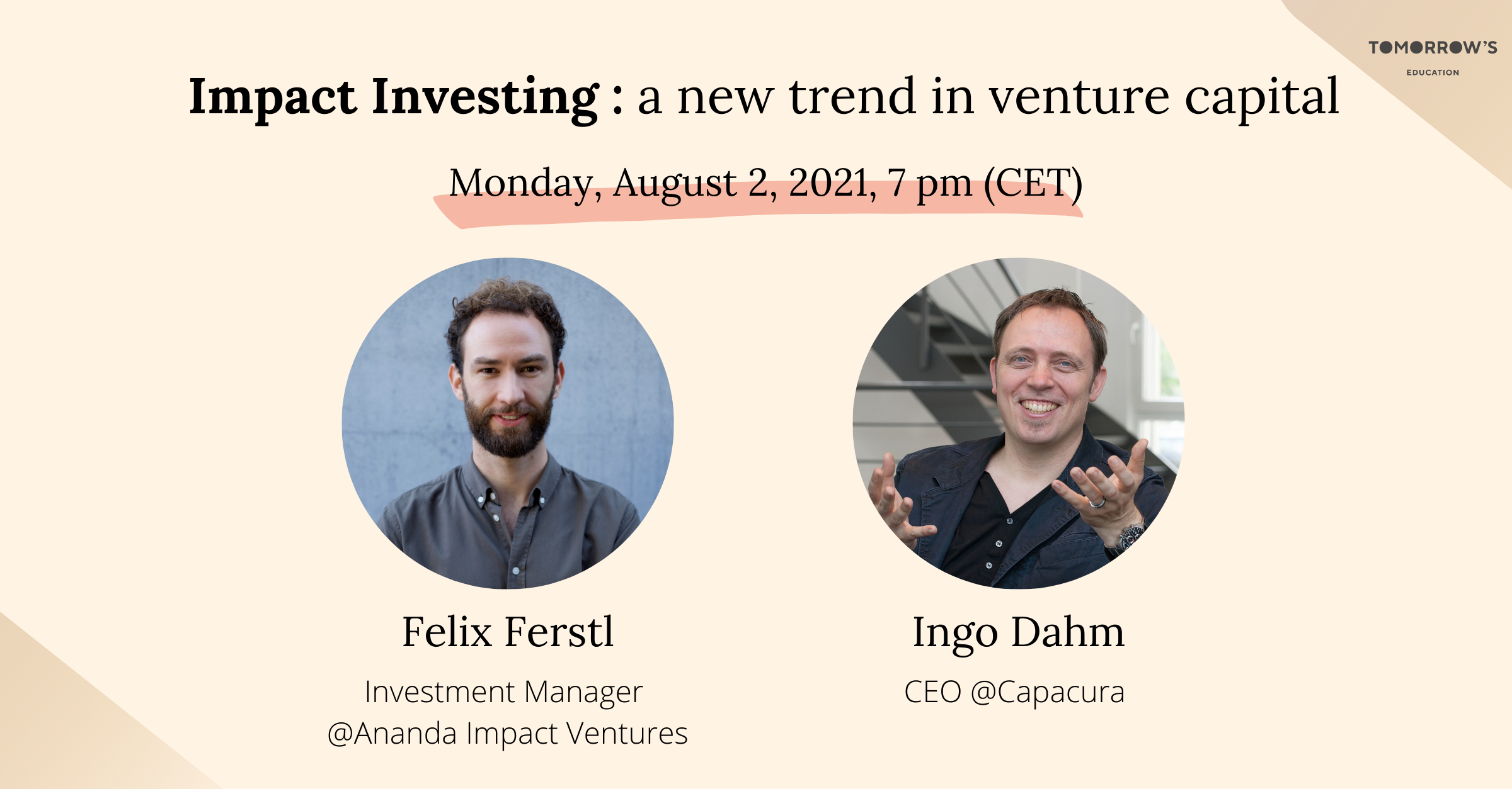 Impact investing - a new trend in venture capital