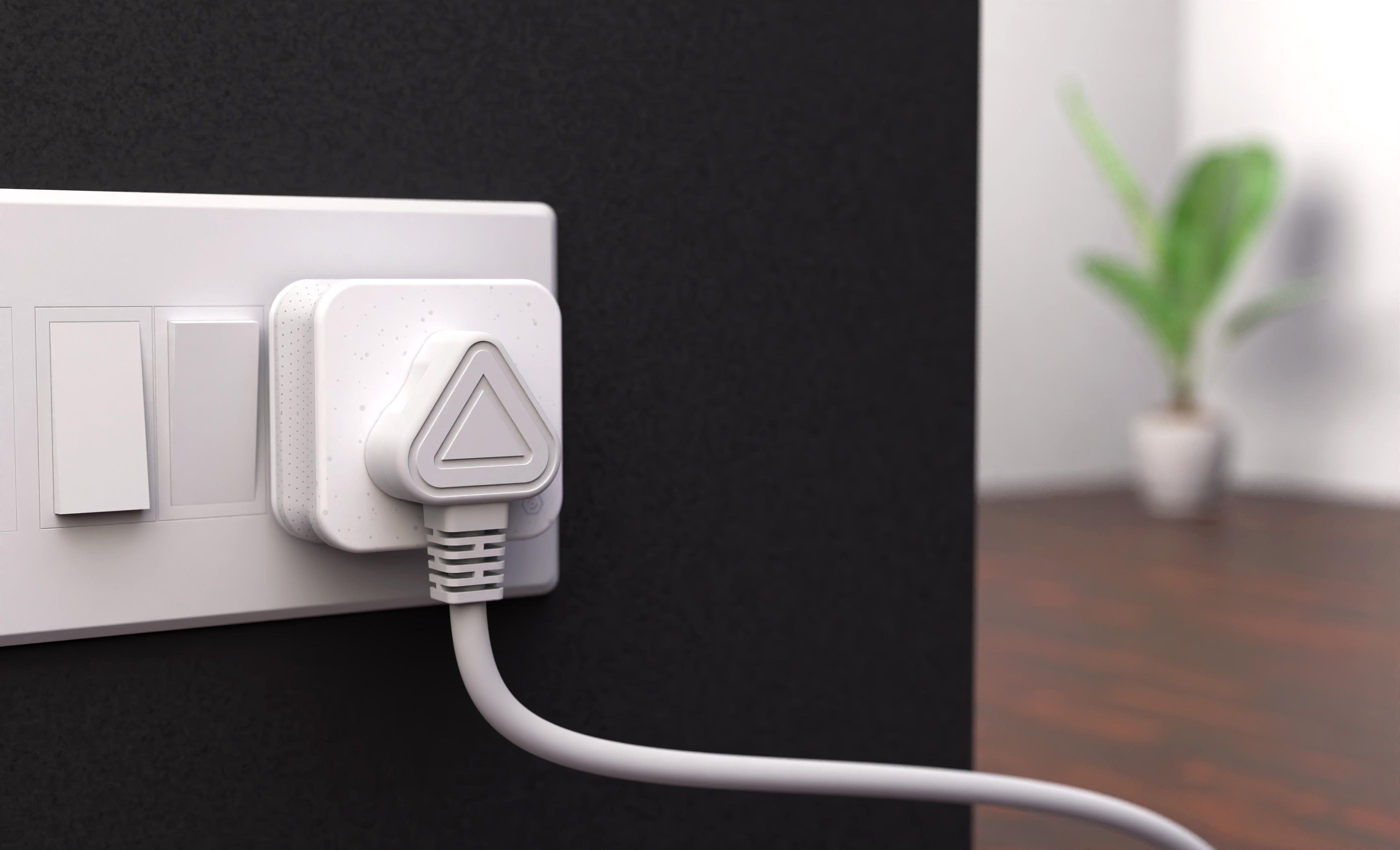 Most power strips, surge protectors and power adapters look like industrial and utilitarian products because they don't really do much. Other than powering devices up and down manually. A lot more people have started to incorporate smart plugs in their homes to convert them into smart homes. Now, smart plugs require a more refined design since they are consumer technology products rather than just utilitarian products. The Simon Smart Plug not only allows users to remotely power up and down appliances, but it also lets them track the energy consumption, dim light and create schedules for their devices. The smart plug's soft and inviting form factor positions it in the world of connected devices. The subtle LED indicator seamlessly integrates the user interface with the hardware to create a delightful experience.