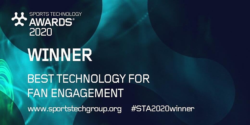Singular Wins Best Technology for Fan Engagement at STA 2020