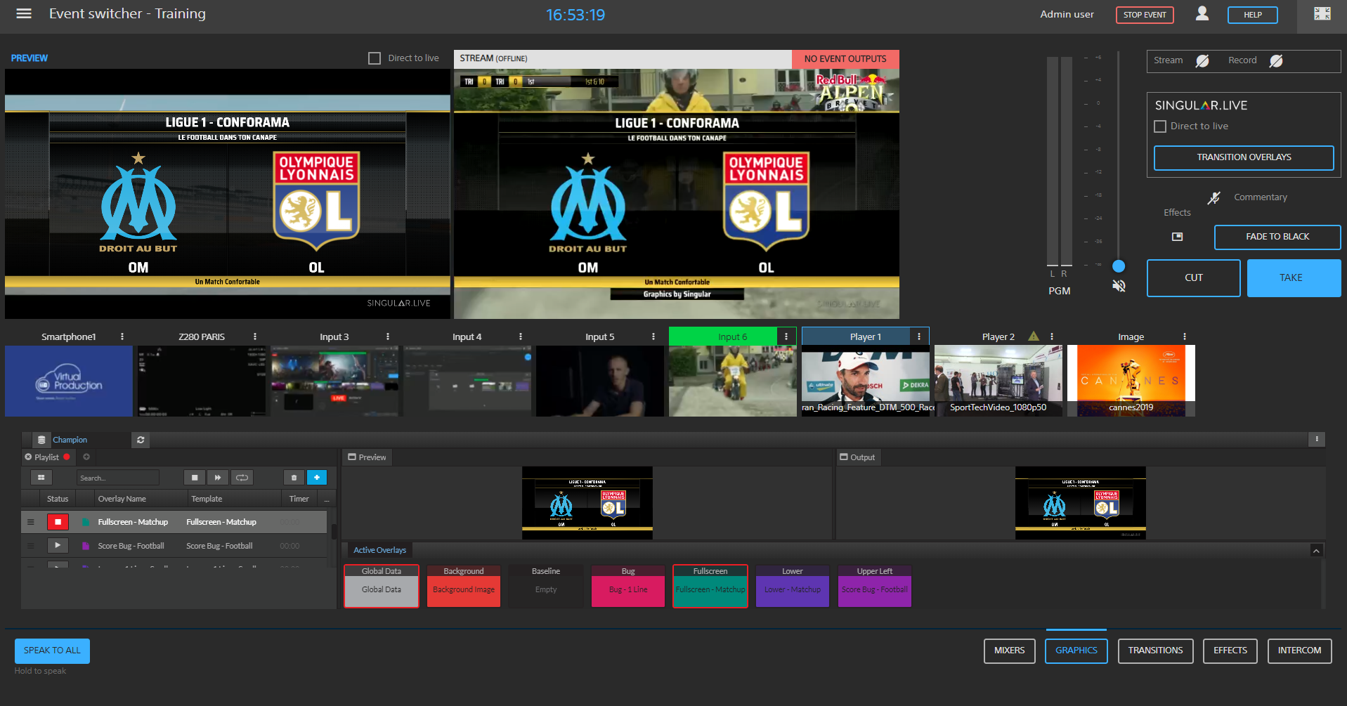 Sony Professional Europe adds Singular.Live graphics to Virtual Production