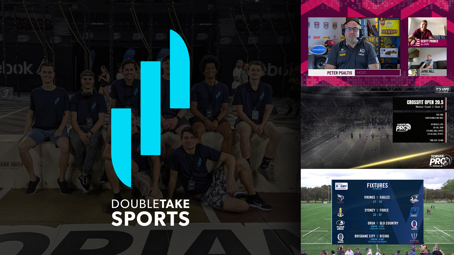 DoubleTake Sports Offers Broadcast-Quality Productions at a Fraction of the Cost