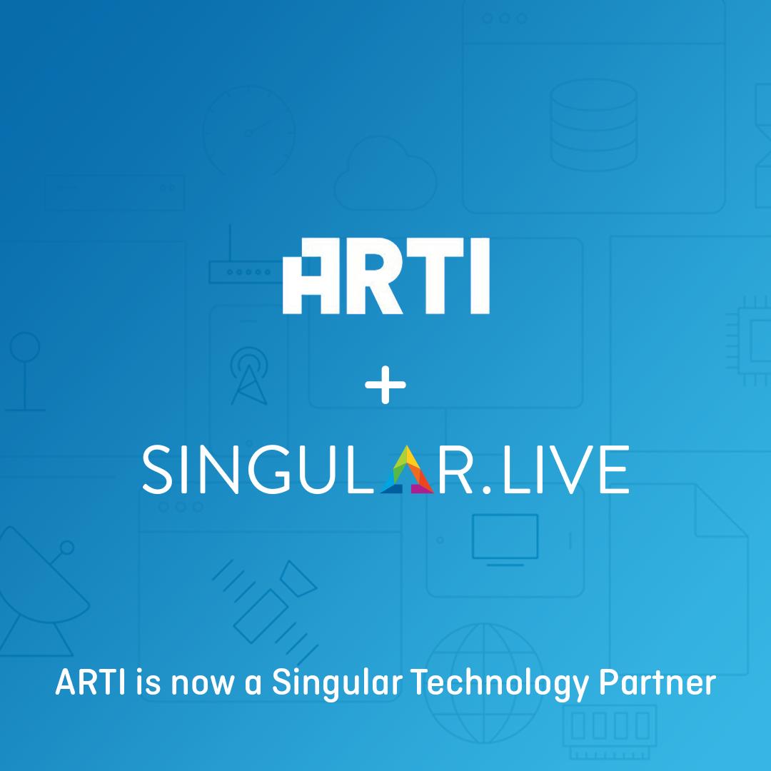 ARTI is the newest Singular Technology Partner