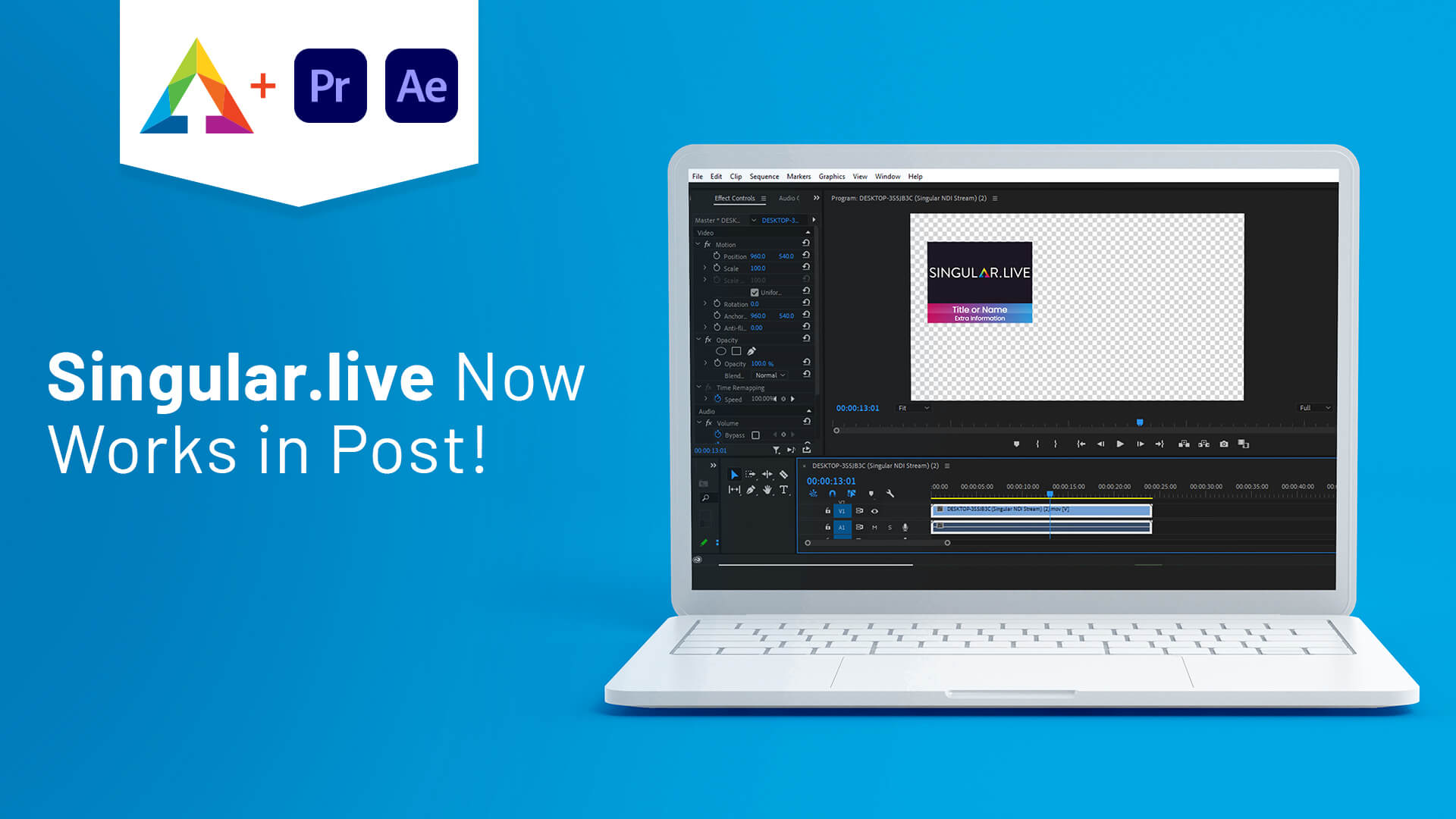 Singular.live Now Works in Post!