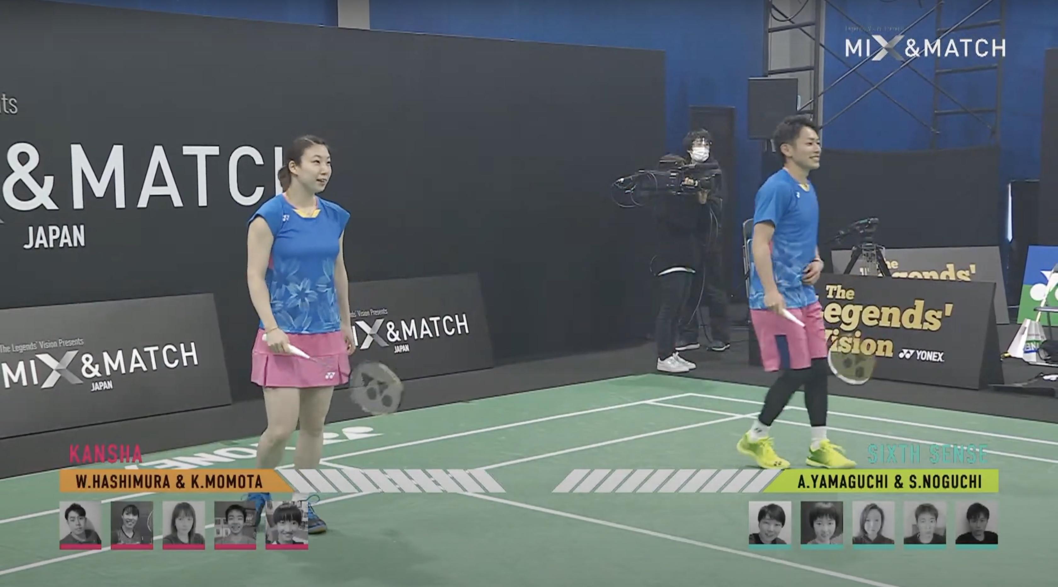 YONEX's New Mix & Match Badminton Challenge - Japan Broadcast