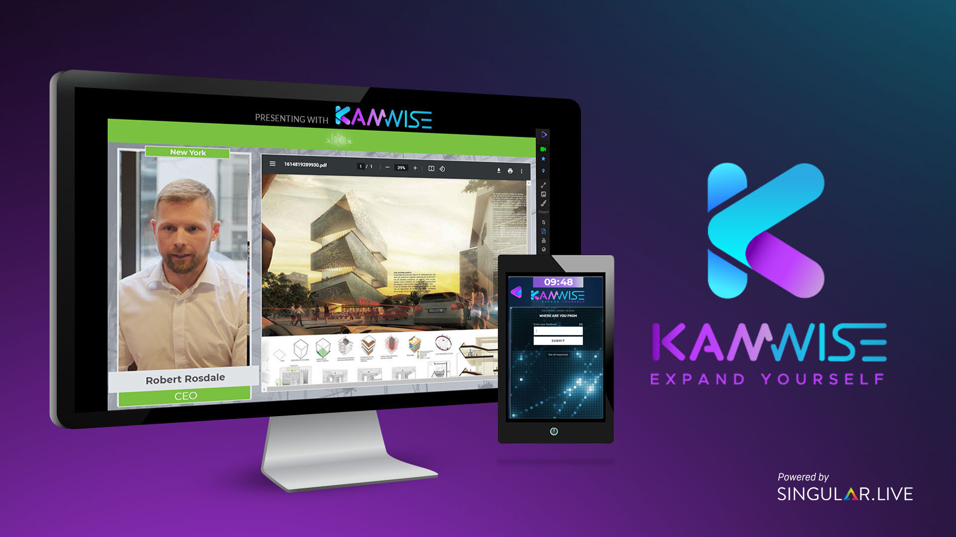 KamWise - The App Redefining Virtual Events