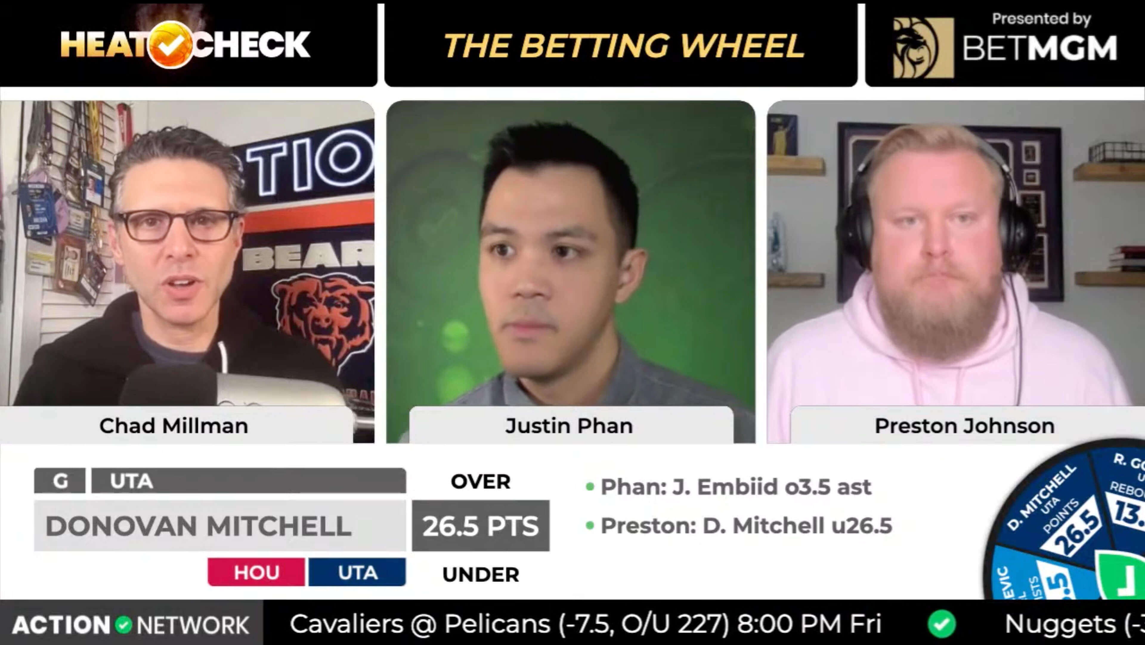 "Action Network Debuts New Live Betting Show Format with ""Heat Check"""