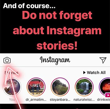 Using Instagram Stories for your Business
