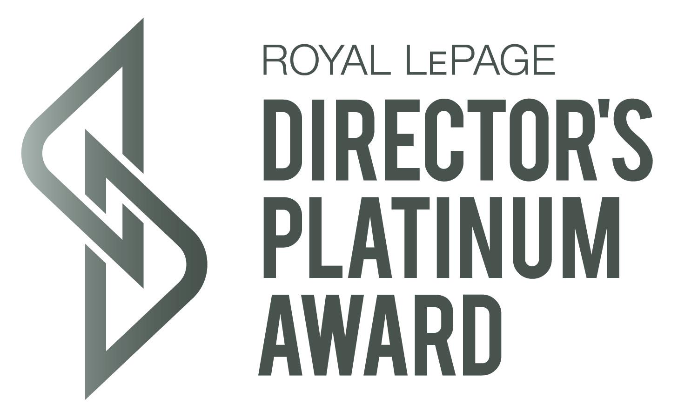 Royal Lepage Directors Platinum Award Logo