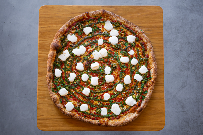 Tony Boloney's Tikka Pizza