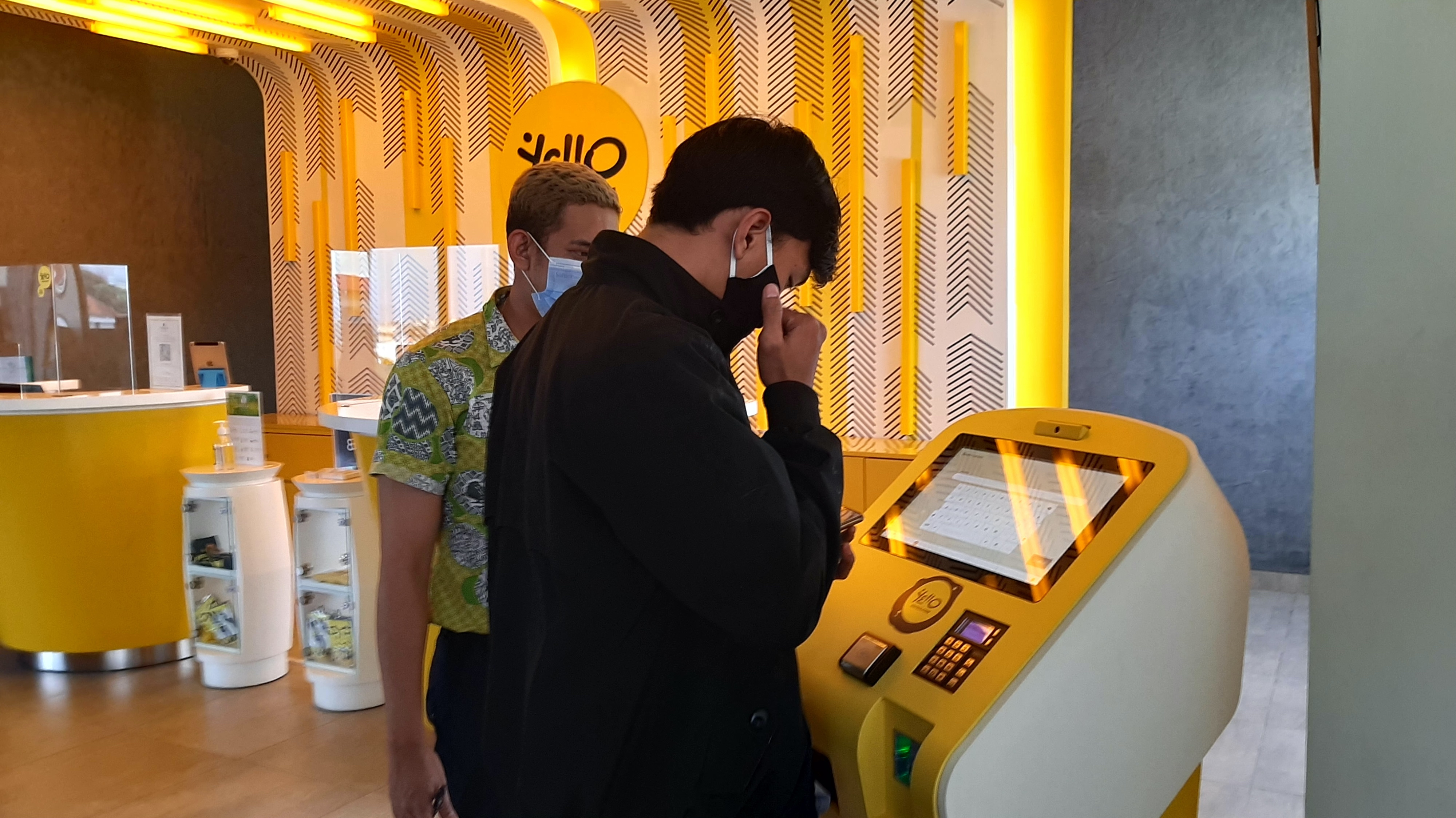 Yello Hotel Paskal and MYRA Self Check-in kiosk Solution