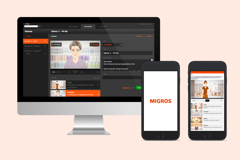 Video Publishing Tool für die Migros
