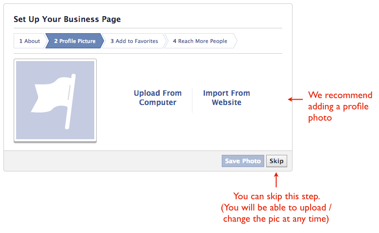How to create a FB business page 3