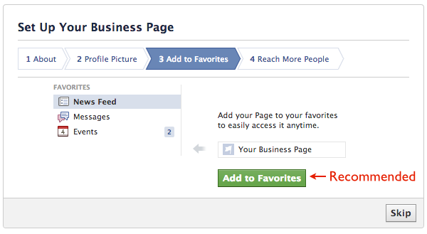 How to create a FB business page 4