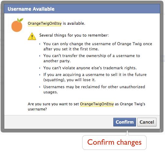 How to shorten your FB URL-5