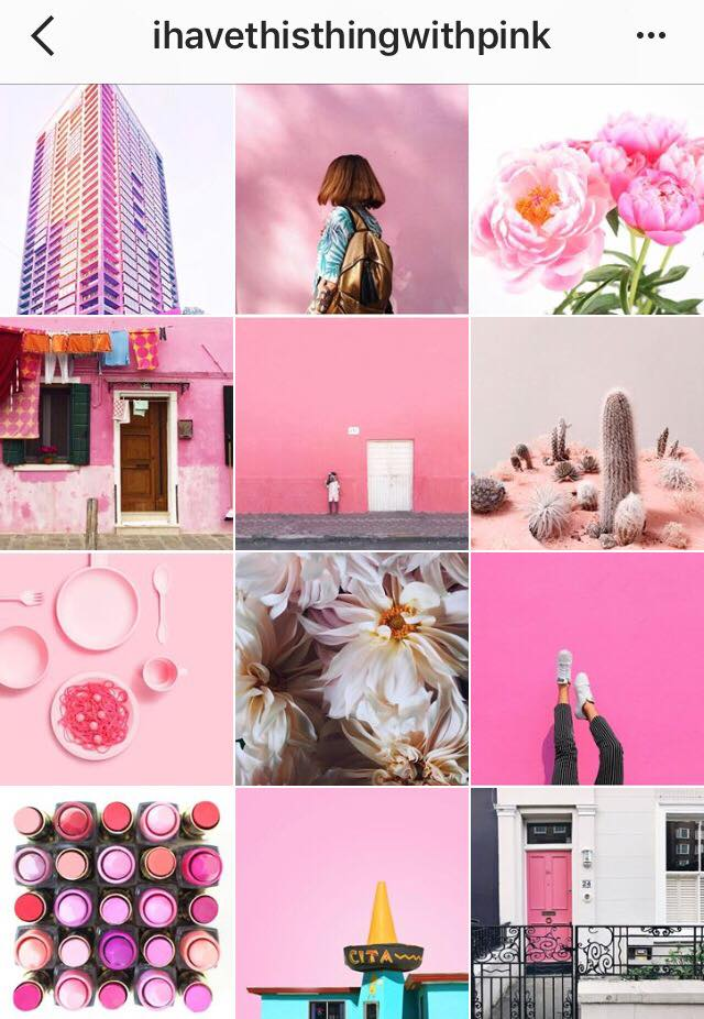 i have this thing with pink color
