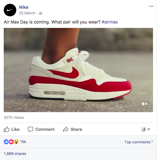 social media marketing-nike-air max