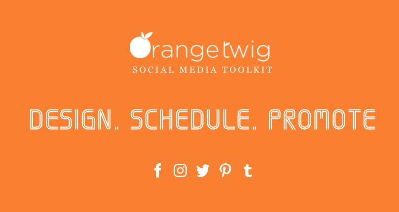 OrangeTwig Social Media Marketing App