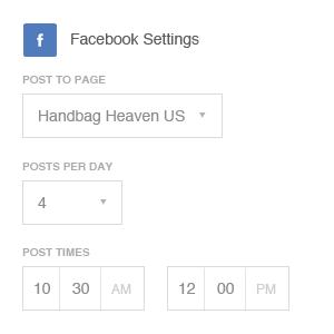 OrangeTwig - Post settings
