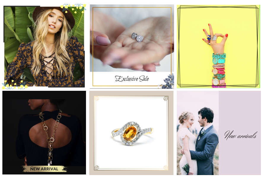 Examples of Designed Ad Catalogs for targeted buyers