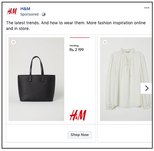 Designed Ad Catalog by H&M