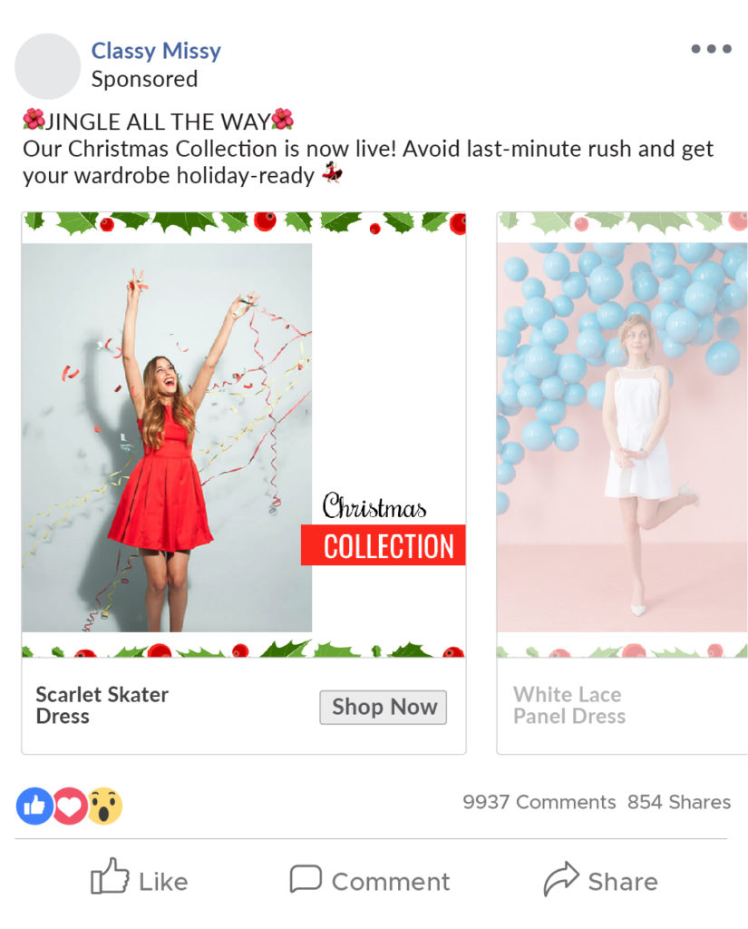 Occasion-themed Designed Ad Catalog